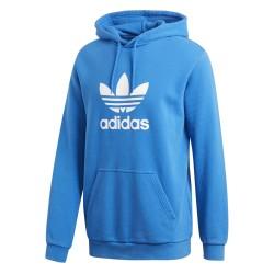 Adidas Originals Trefoil Hoodie Férfi Pulóver (Kék-Fehér) DT7965