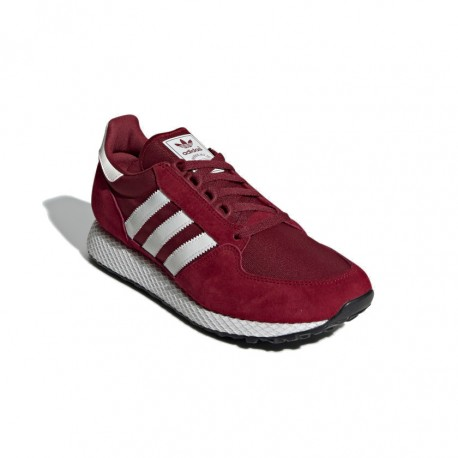 Adidas Originals Forest Grove Férfi Cipő (Bordó-Fehér) CG5674