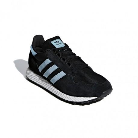 e0d7aead625a Adidas Originals Forest Grove Női Cipő (Fekete-Kék) CG6123