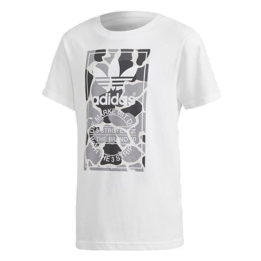 Adidas Originals Camo Trefoil Tee Fiú Gyerek Póló (Fehér) DH2708 a5f9dab162