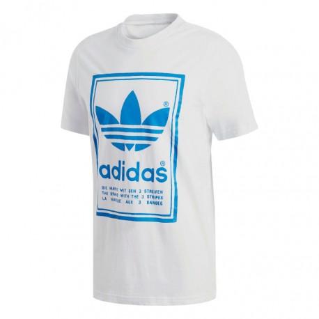 Adidas Originals Vintage Tee Férfi Póló (Fehér-Kék) DJ2716