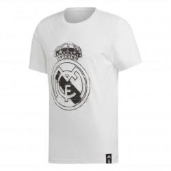 Adidas Real Madrid DNA Graphic Tee Férfi Póló (Fehér-Fekete) DP5191