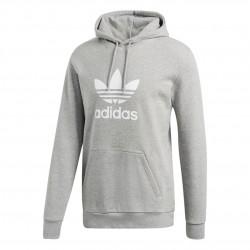 Adidas Originals Trefoil Hoodie Férfi Pulóver (Szürke-Fehér) DT7963