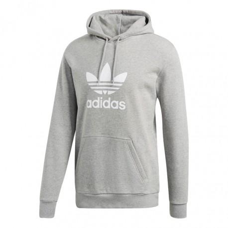Adidas Originals Trefoil Hoodie Férfi Pulóver (Szürke-Fehér) DT7963 e5f208bf06