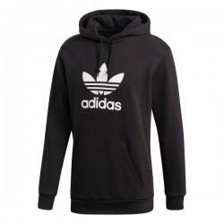Adidas Originals Trefoil Hoodie Férfi Pulóver (Fekete-Fehér) DT7964