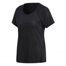 Adidas Aeroknit Tee Női Póló (Fekete) DU1323