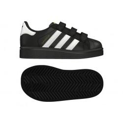 Adidas Originals Superstar CF I Kisfiú Gyerek Cipő (Fekete-Fehér) BZ0419