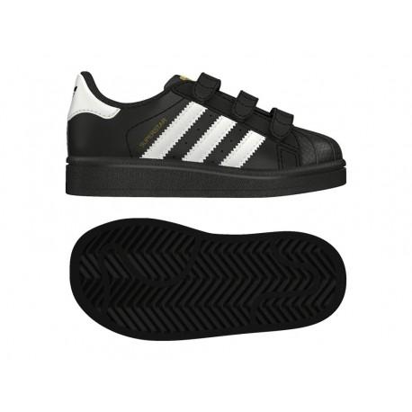 Adidas Originals Superstar CF I Kisfiú Gyerek Cipő (Fekete-Fehér) BZ0419 60dc1f4e37