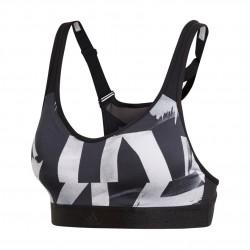 Adidas SFI Racer OAP Női Sportmelltartó (Fekete-Fehér) DQ0114