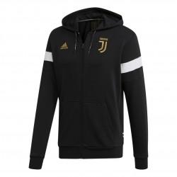 Adidas Juventus Hoodie Férfi Felső (Fekete-Fehér) DP3822