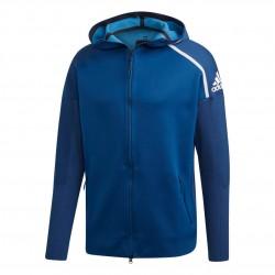 Adidas ZNE Primeknit Hoodie Férfi Felső (Kék) DP5146