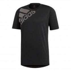 Adidas FreeLift Badge Of Sport Graphic Tee Férfi Póló (Fekete) DU0902