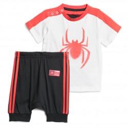 Adidas Marvel Spider Man Summer Set Kisfiú Bébi Nyári Együttes (Fehér-Piros-Fekete) DV0833