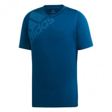 Adidas FreeLift Badge Of Sport Graphic Tee Férfi Póló (Kék) DV1314