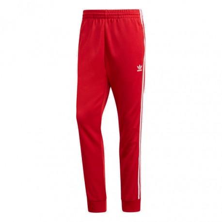 Adidas Originals SST Track Pants Férfi Nadrág (Piros-Fehér) DV1534