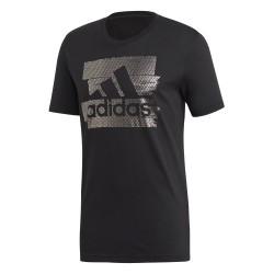 Adidas Badge Of Sport Foil Tee Férfi Póló (Fekete) DV3080