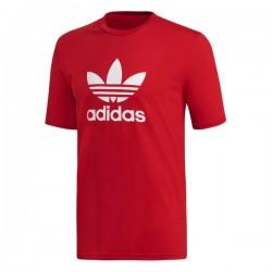 Adidas Originals Trefoil Tee Férfi Póló (Piros-Fehér) DX3609