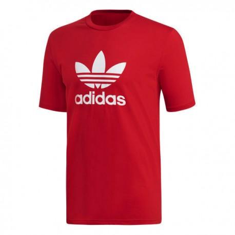 1a8bd8c381 Adidas Originals Trefoil Tee Férfi Póló (Piros-Fehér) DX3609