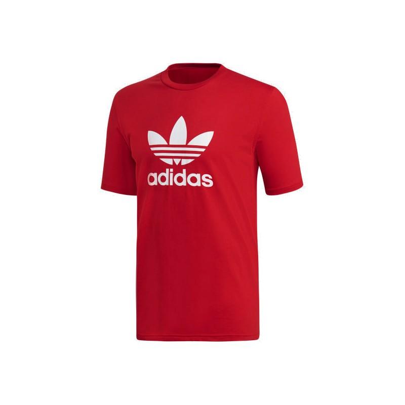 Adidas Originals Trefoil Tee Férfi Póló (Piros-Fehér) DX3609 4e603cbab1