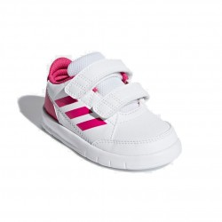Adidas AltaSport CF I Kislány Gyerek Cipő (Fehér-Rózsaszín) D96846