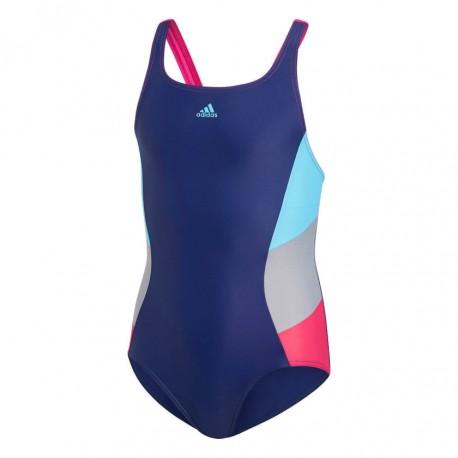 Adidas Colorblock Swimsuit Lány Gyerek Úszó Dressz (Színes) DH2427 3504c95807