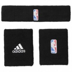 Adidas NBA Wristband Plus Headband Csuklószorító és Fejpánt (Fekete-Fehér) G68791