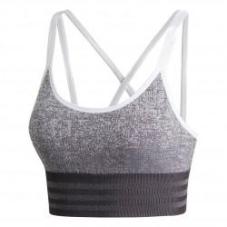 Adidas All Me Primeknit FLW Bra Női Sportmelltartó (Fekete-Fehér) DX0446