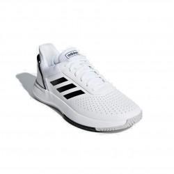 Adidas Courtsmash Férfi Tenisz Cipő (Fehér-Fekete) F36718