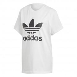 Adidas Originals Boyfriend Tee Női Hosszított Póló (Fehér-Fekete) DX2322