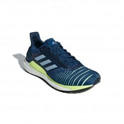 Adidas Solar Glide M Férfi Futó Cipő (Kék-Sárga) D97436