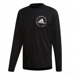 Adidas Sport ID Sweater Mesh Férfi Felső (Fekete-Fehér) DQ1468