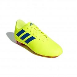 Adidas Nemeziz 18.4 FxG J Fiú Gyerek Foci Cipő (Sárga-Kék-Piros) CM8509