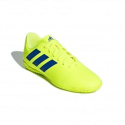 Adidas Nemeziz 18.4 IN J Fiú Gyerek Foci Cipő (Sárga-Kék) CM8519