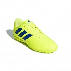 Adidas Nemeziz 18.4 TF J Fiú Gyerek Foci Cipő (Sárga-Kék) CM8522