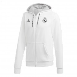 Adidas Real Madrid FZ Hoodie Férfi Felső (Fehér) DP5188