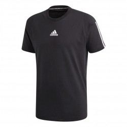 Adidas Must Haves 3 Stripes Tee Férfi Póló (Fekete-Fehér) DT9955