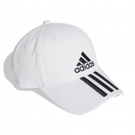Adidas 6P 3S Cap COTTO Baseball Sapka (Fehér-Fekete) DU0197 f4ac6c856a