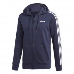 Adidas Essentials 3 Stripes Track Jacket Férfi Felső (Kék-Fehér) DU0471