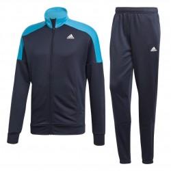 Adidas Badge Of Sport Track Suit Férfi Melegítő Együttes (Kék-Fehér) DV2445
