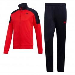 Adidas Badge Of Sport Track Suit Férfi Melegítő Együttes (Piros-Fekete) DV2451