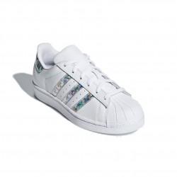Adidas Originals Superstar J Női Cipő (Fehér-Ezüst) F33889
