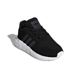 Adidas Originals Swift Run I Kisfiú Bébi Cipő (Fekete-Fehér) CG6923
