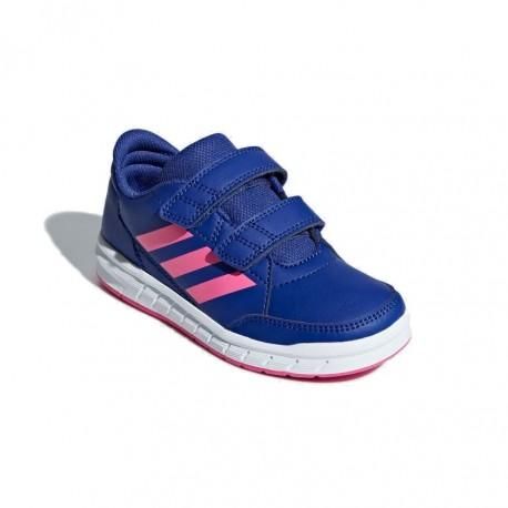 Adidas AltaSport CF K Lány Gyerek Cipő (Kék-Rózsaszín) D96823