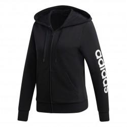 Adidas Essentials Linear Hoodie Női Felső (Fekete-Fehér) DP2401