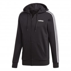 Adidas Essentials 3 Stripes Track Jacket Férfi Felső (Fekete-Fehér) DQ3102