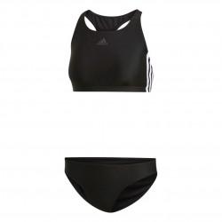 Adidas 3 Stripes Bikini Női Bikini (Fekete-Fehér) DQ3315