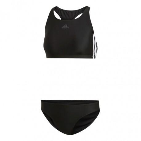 Adidas 3 Stripes Bikini Női Bikini (Fekete Fehér) DQ3315