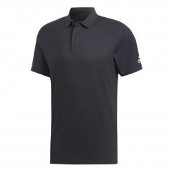 Adidas Must Haves Plain Polo Shirt Férfi Galléros Póló (Fekete) DT9911