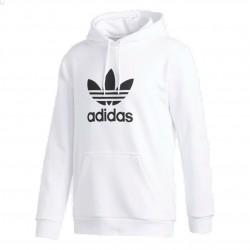 Adidas Originals Trefoil Hoodie Férfi Pulóver (Fehér-Fekete) DU7780