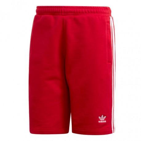 0823463e60 Adidas Originals 3 Stripes Shorts Férfi Short (Piros-Fehér) DV1525